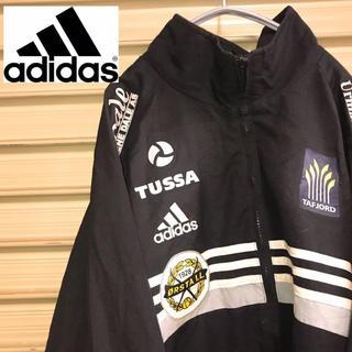 adidas - アディダス adidas ナイロンジャケット ブラック サッカー 90s
