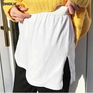 ディーホリック(dholic)の新品⭐︎ DHOLIC スリットレイヤードTシャツ(その他)