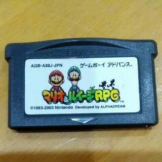 ゲームボーイアドバンス - ゲームボーイアドバンス マリオ&ルイージRPG