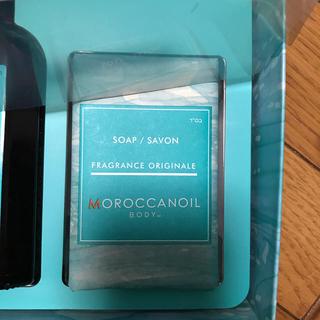 モロッカンオイル(Moroccan oil)のモロッカンオイル ボディソープ フレグランス オリジナル 新品 12月購入(ボディソープ/石鹸)
