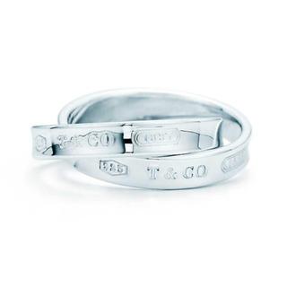 Tiffany & Co. - ティファニー 1837 インターロッキング サークル リング 2連リング