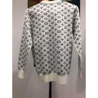 ルイヴィトン(LOUIS VUITTON)の2019AW 美品!CHANELシャネル セーター 白(ニット/セーター)