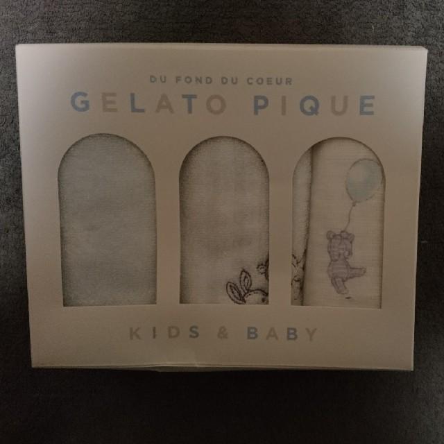 gelato pique(ジェラートピケ)のジェラートピケ お手ふきタオル 3枚セット レディースのファッション小物(ハンカチ)の商品写真