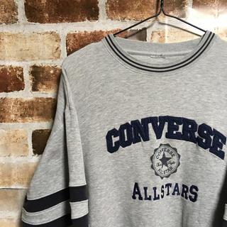 コンバース(CONVERSE)のコンバース/ビックシルエット/刺繍/オールスター/ワンスター/スウェット(スウェット)