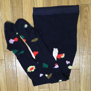 mina perhonen - ミナペルホネン  タイツ flower basket