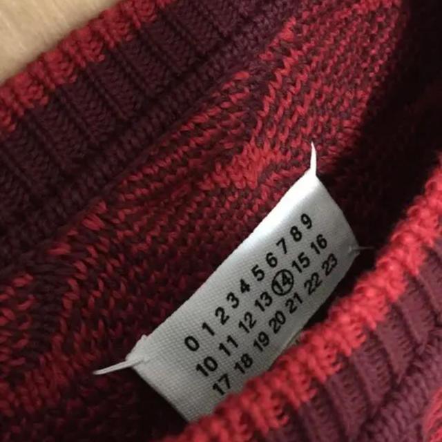 Maison Martin Margiela(マルタンマルジェラ)のマルジェラ ニット サイズM メンズのトップス(ニット/セーター)の商品写真