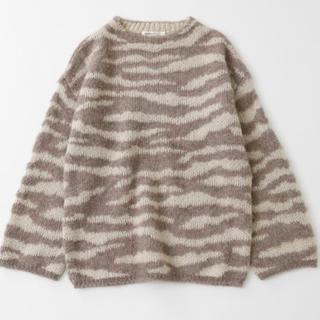 マウジー(moussy)のmoussy ANIMAL セーター 新品タグ付き(ニット/セーター)