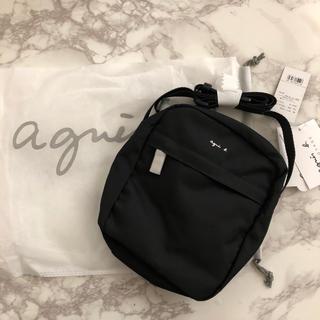 agnes b. - 【新品、タグ付き】agnes b. アニエスベー ナイロンショルダーバッグ