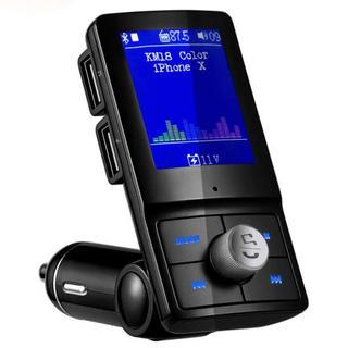 FMトランスミッター 車載用FMトランスミッター Bluetooth 4.2