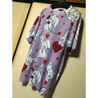 ミルクボーイ(MILKBOY)のMILKBOY うさぎ Tシャツ ラビット rabbit 兎(Tシャツ/カットソー(半袖/袖なし))