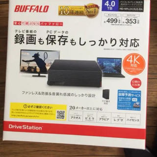 Buffalo - 外付けHDD 3TB BUFFALO HD-NRLC3.0-B