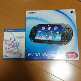 PlayStation Vita - vita 1100 ソフト付き