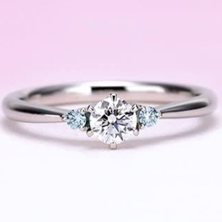 ブルーダイヤモンド リング (リング(指輪))