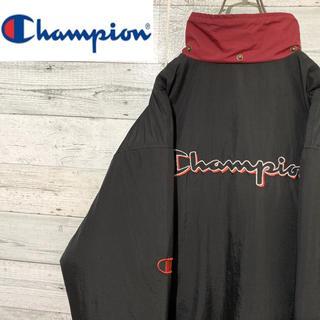 Champion - 【激レア】チャンピオン☆刺繍ビッグロゴ バイカラー ナイロンジャケット