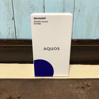 SHARP - 【新品・未開封・送料無料】AQUOS sense2 SH-M08 SIMフリー