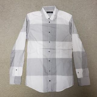 ドルチェアンドガッバーナ(DOLCE&GABBANA)のドルチェ&ガッバーナDOLCE&GABBANAチェックシャツ15/38(シャツ)