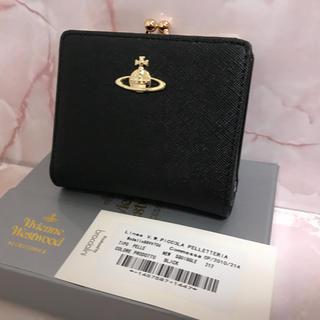 Vivienne Westwood - 二つ折りがま口財布❤️ヴィヴィアンウエストウッド❤️新品・未使用