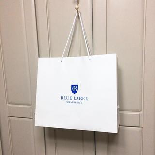 バーバリーブラックレーベル(BURBERRY BLACK LABEL)のブラックレーベル併用紙袋 新品 ショップ袋 (ショップ袋)