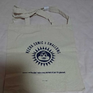 東京ヤクルトスワローズ - つば九郎×めちゃコミコラボトートバッグ 新品未使用