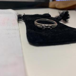 クロムハーツ(Chrome Hearts)のクロムハーツ ダガーリング 正規ダイヤ(リング(指輪))