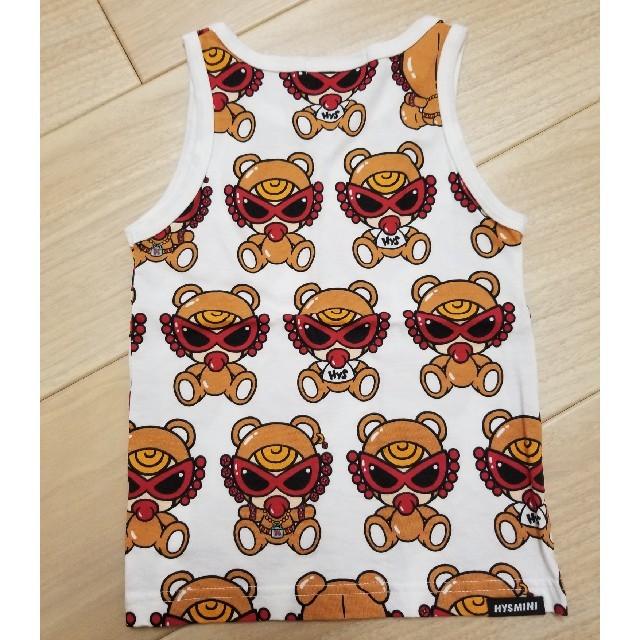 HYSTERIC MINI(ヒステリックミニ)のブラウンテディタンク キッズ/ベビー/マタニティのキッズ服男の子用(90cm~)(Tシャツ/カットソー)の商品写真