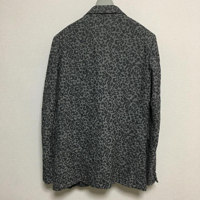 COMME des GARCONS HOMME PLUS(コムデギャルソンオムプリュス)のコムデギャルソンオムドゥ ジャケット/アニマル柄/ウール縮絨 メンズのジャケット/アウター(テーラードジャケット)の商品写真
