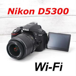 Nikon - ❤️スマホにらくらく転送❤️自撮りも❤️Nikon D5300