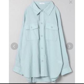 JEANASIS - コットンリネンCPOシャツ 今季 ジーナシス シャツ リネン タンク スカート