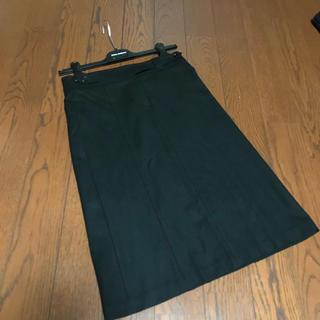 セオリー(theory)の新品未使用 セオリー 台形スカート 膝丈 ウール(ひざ丈スカート)