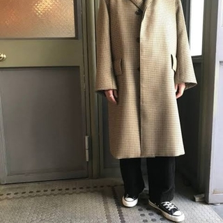 auralee double face coat