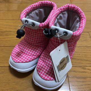 Zukkersスノーブーツ(ピンク)【Kids/17.0新品】