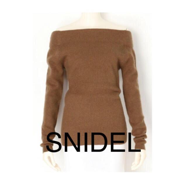 snidel(スナイデル)のSNIDEL ◇オフショルダーニット◇ スナイデル レディースのトップス(ニット/セーター)の商品写真