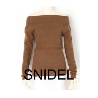 snidel - SNIDEL ◇オフショルダーニット◇ スナイデル