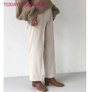 TODAYFUL - TODAYFUL2019新作完売パンツStretch Trousers 38