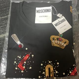 MOSCHINO - モスキーノ ビジュー Tシャツ新品