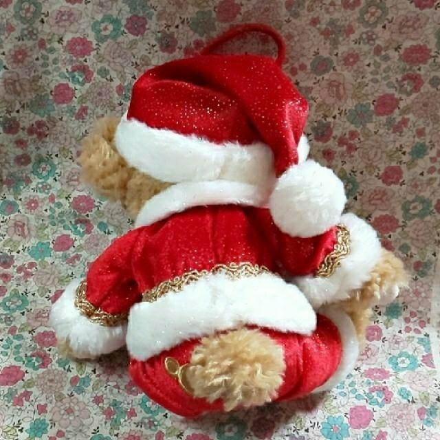 ダッフィー(ダッフィー)のダッフィ クリスマス キャンリフ ポーチ エンタメ/ホビーのおもちゃ/ぬいぐるみ(キャラクターグッズ)の商品写真