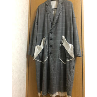 Yohji Yamamoto - sulvam over coat gray