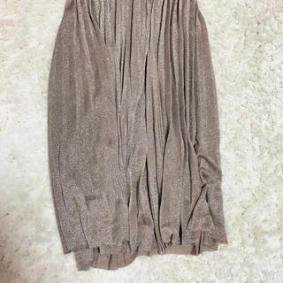 ウィゴー(WEGO)のラメスカート(ロングスカート)