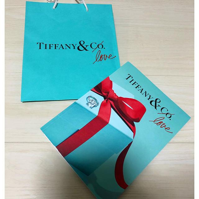 Tiffany & Co.(ティファニー)のティファニー カタログ クリスマス 紙袋つき レディースのバッグ(ショップ袋)の商品写真