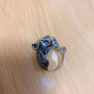 シルバーリング  指輪  ファッションリング  クマ  トラ  タイガー(リング(指輪))