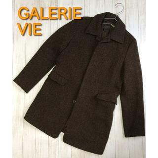 TOMORROWLAND - 【GALERIE VIE】チェスターコート ブラウン フリーサイズ ウール90%