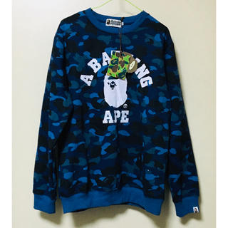 A BATHING APE - 新品 a bathing ape スウェット