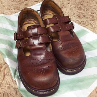 ドクターマーチン(Dr.Martens)のDr.martens ブラウンローカット(ローファー/革靴)