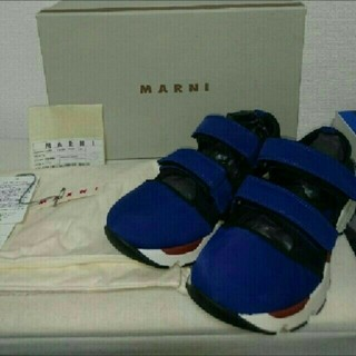 マルニ(Marni)の新品未使用 MARNI ベルクロ スニーカー(スニーカー)