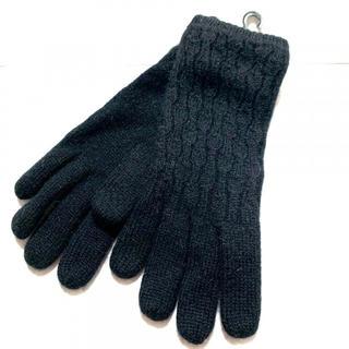 クロエ(Chloe)の新品 クロエ 手袋 レディース ニット ブラック 黒(手袋)