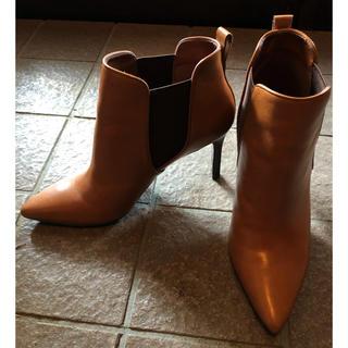 ラルフローレン(Ralph Lauren)のブラウンショートブーツ(ブーツ)