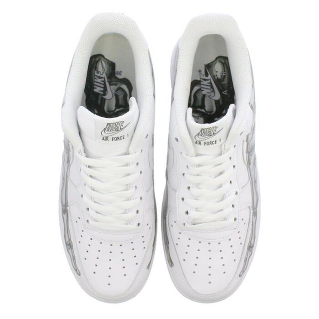 NIKE(ナイキ)の【新品】NIKE AIR FORCE 1 '07 SKELETON 28cm メンズの靴/シューズ(スニーカー)の商品写真