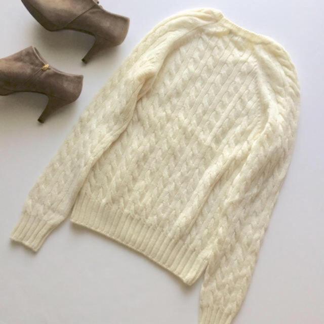 IENA(イエナ)の美品 定番人気♡IENA ウールケーブルニットプルオーバー レディースのトップス(ニット/セーター)の商品写真