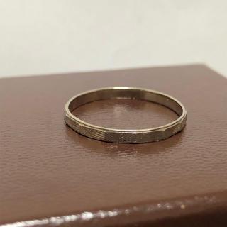 エテ(ete)のete シンプルリング K10 15号 エテ(リング(指輪))