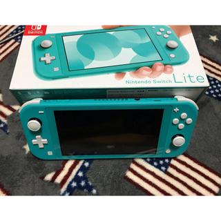 Nintendo Switch - ニンテンドースイッチライトターコイズ